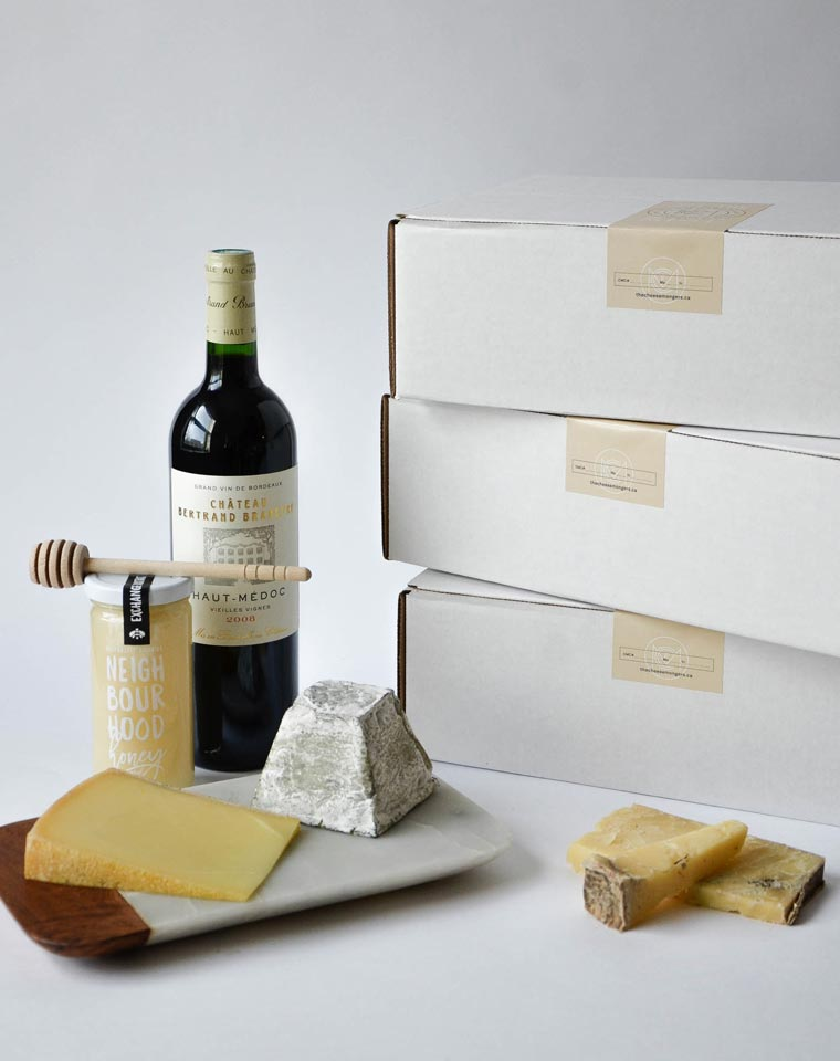 Cheese + Wine of the Month Club